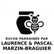 Parrainage Ruches de Montagne Laurence Marzin & Pascal Braguier