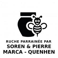 Parrainage Ruches de Montagne Soren Marca & Pierre Quenhen